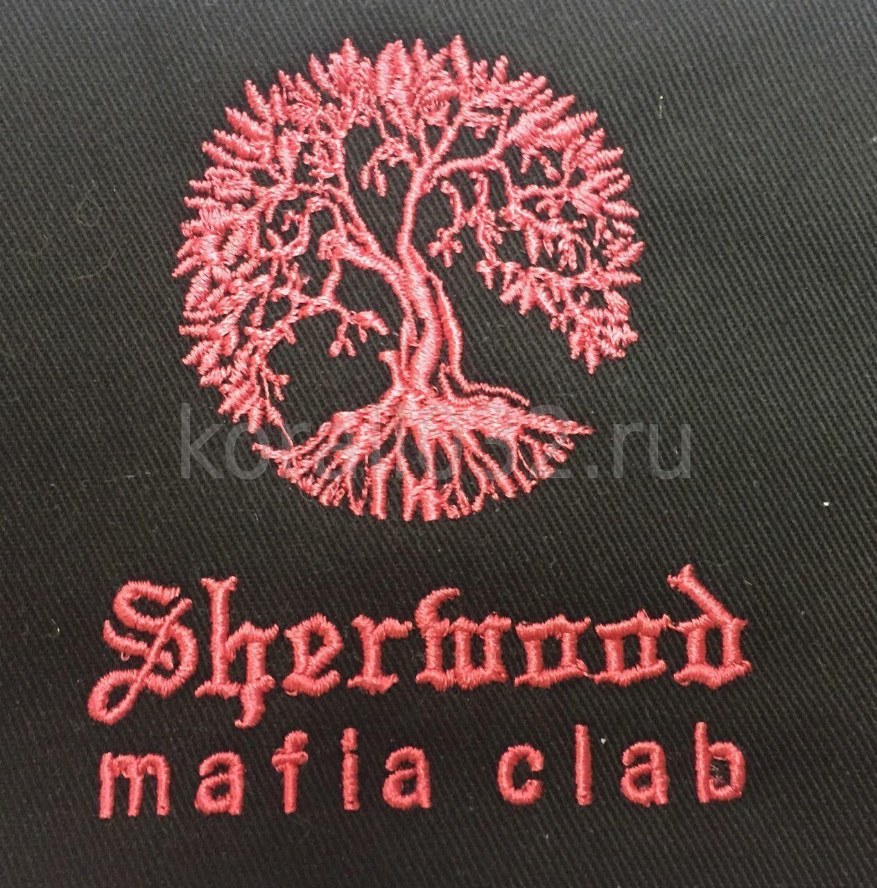 Машинная вышивка логотипов на заказ 83
